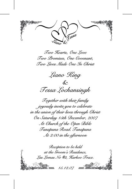 CULTURAL WEDDING INVITATIONS