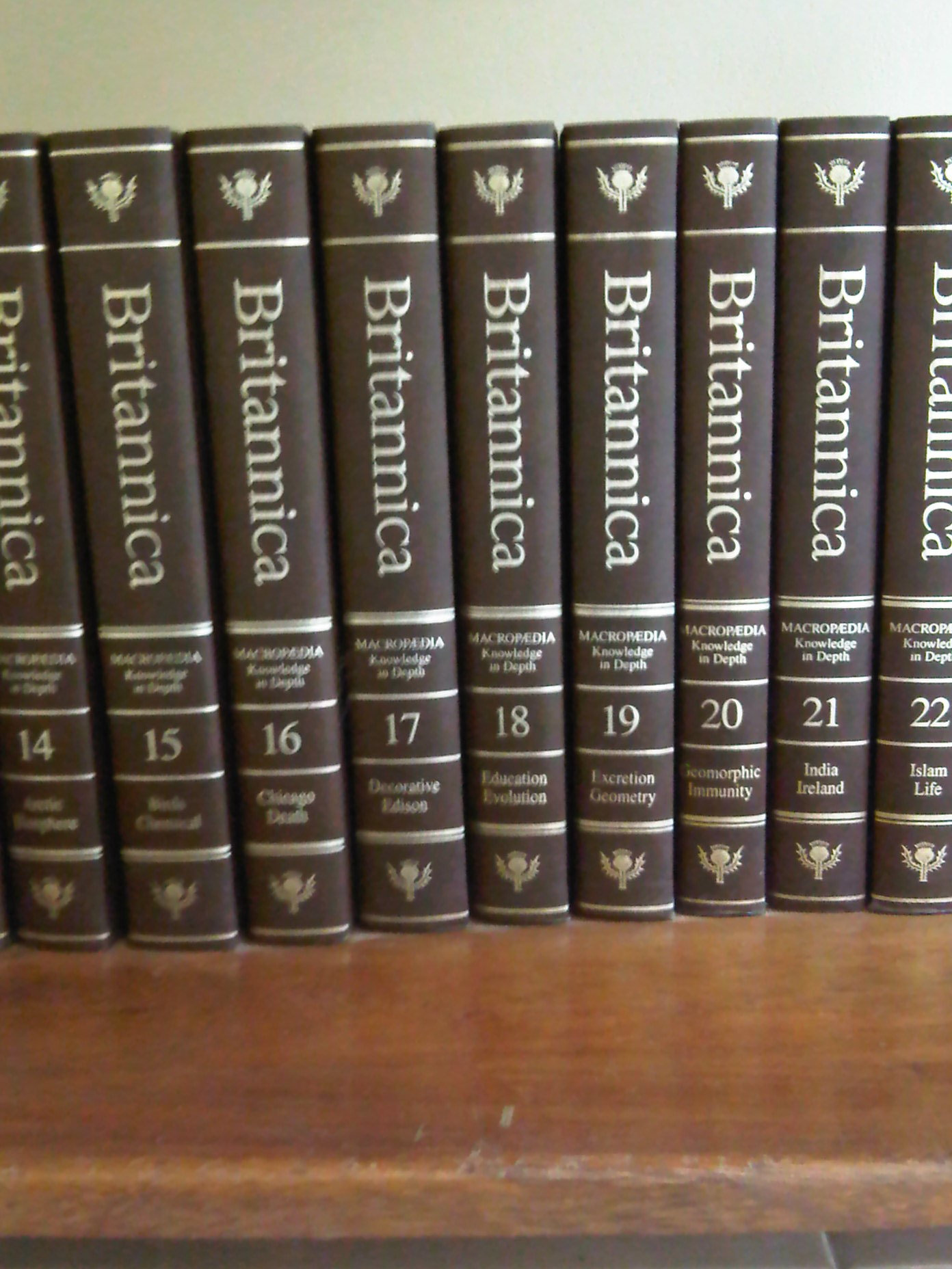 ENCYCLOPEDIA BRITANNICA Book Set | Trinidad Classifieds