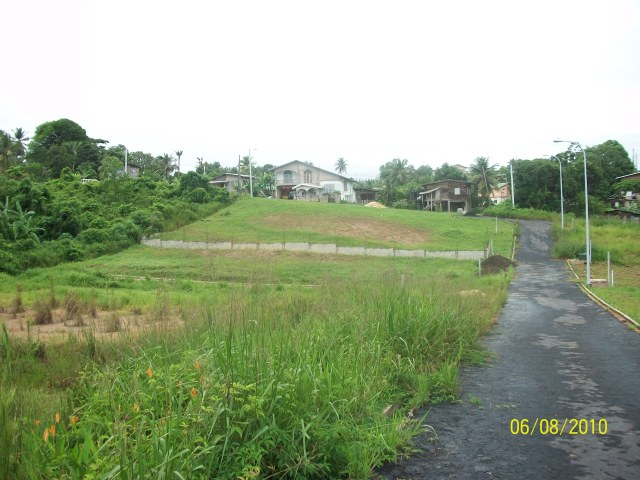 1 lot of land for sale in biche trinidad