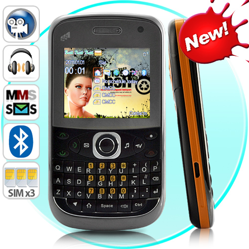 triplus  u2013 triple sim qwerty cell phone  worldwide quadband